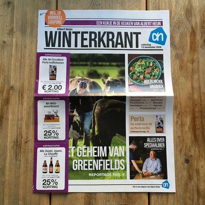 Cover Albert Heijn Winterkrant