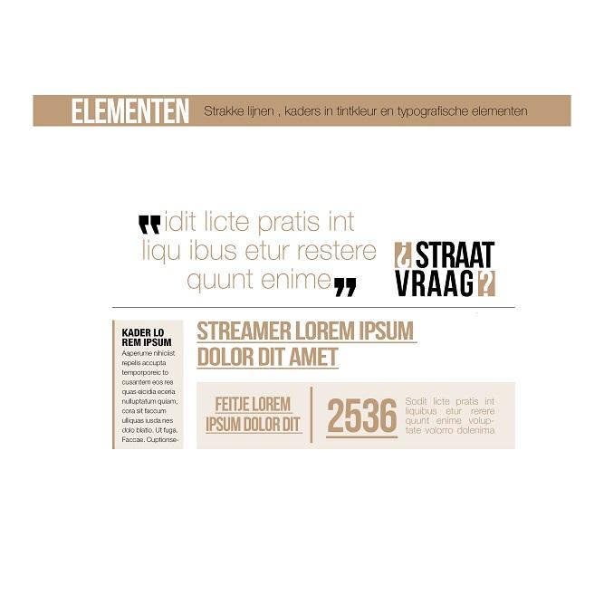 Vormelementen Albert Heijn Winterkrant
