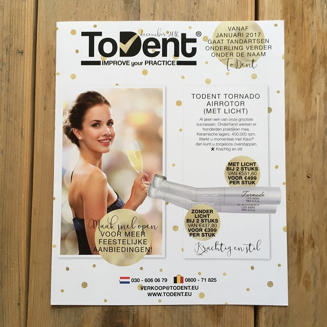 ToDent december 2016 Cover