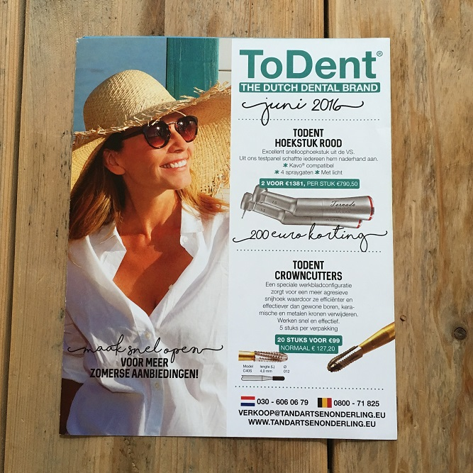 ToDent Juni 2016 Cover