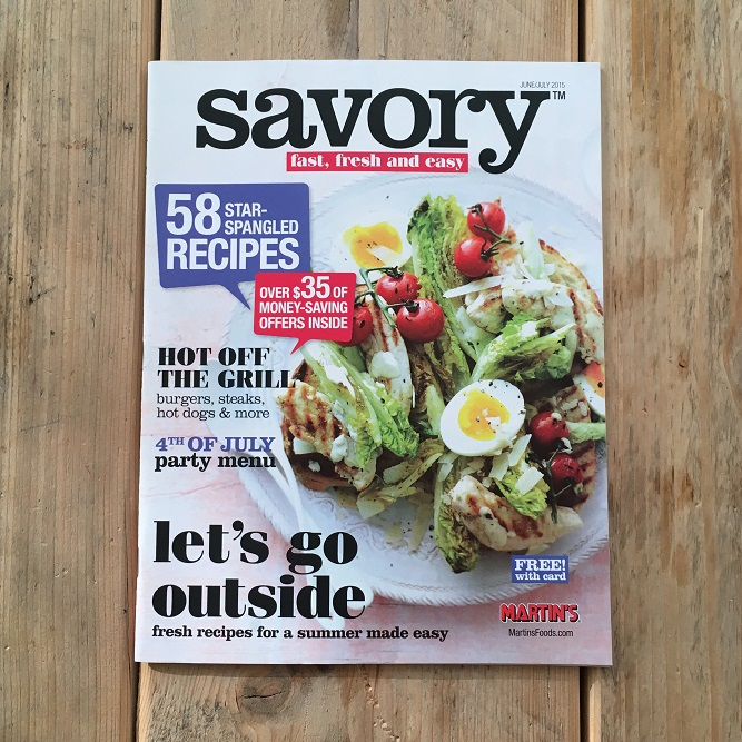 Savory 2015 Cover